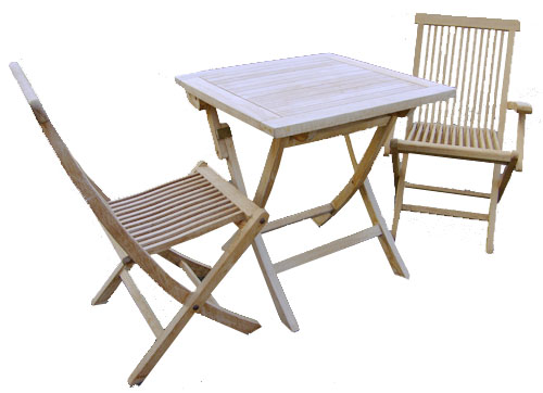 Raw Teak Folding Table 1013B-wood, wooden, teak, raw, unfinished, folding, table, outdoor, deck, patio, pool, furniture