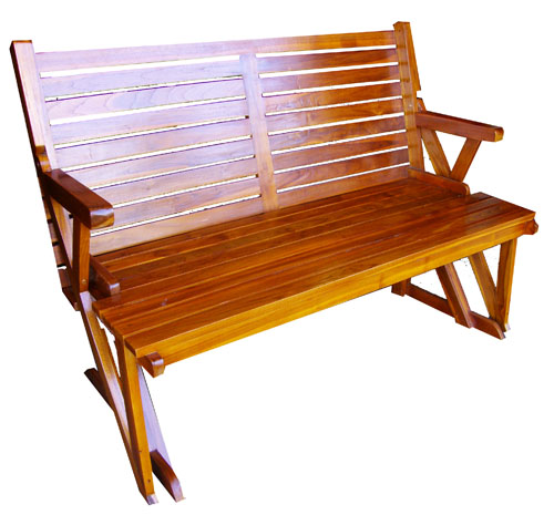 Foldout Teak Bench/Picnic Table 1016 Picnic, Table, Teak, Wood,