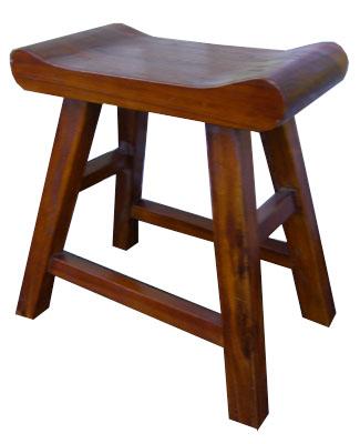 Finished Teak Stool 1017-short small teak stool wood wooden  sc 1 st  Bamboo u0026 Teak & Bamboo u0026 Teak islam-shia.org