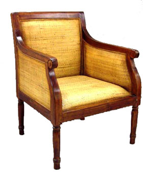 Teak and Bamboo Chair 1051-teak, bamboo, chair, wood, wooden, tropical