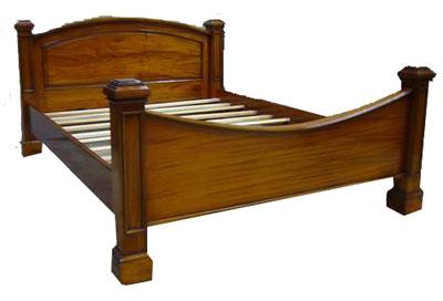 Teak Bed 1077-