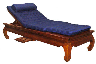 Reclining Teak Patio Chair - 1124-