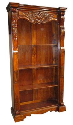 Mahogany Book Shelf - 1132-