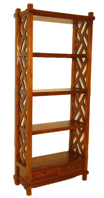 Tropical Teak Book Shelf - 1137-