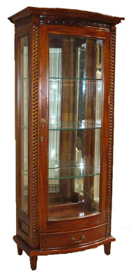 Mirrored Glass Cabinet - 1141-