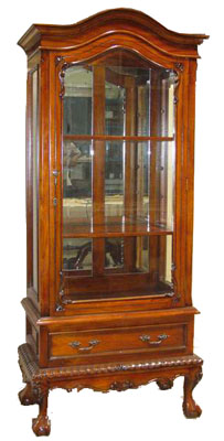 Mahogany Cabinet With Drawer - 1142-