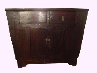 Chinese Hutch Cabinet - 1148-