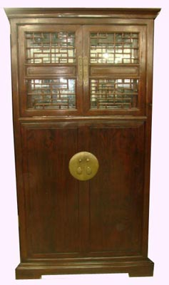Antique Chinese Cabinet - 1164-