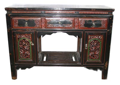Antique Chinese Cabinet - 1165-