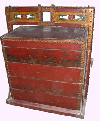 Antique Chinese Chest - 1169-