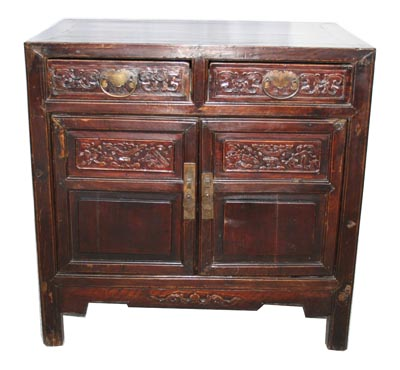 Antique Chinese Cabinet - 1174-