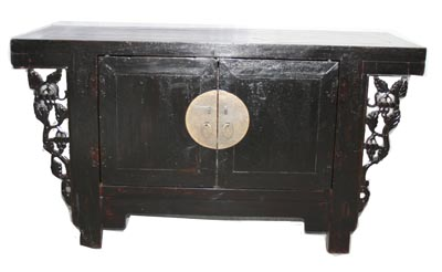 Black Chinese Cabinet - 1178-