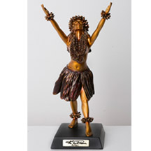 Kim Taylor Reece Cold Cast Resin Statue - Ku'ulei-