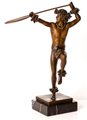 Kim Taylor Reece Solid Bronze Statue - Hoe Wa'a