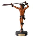 Kim Taylor Reece Cold Cast Resin Statue - Hoe Wa'a
